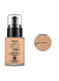 Farmasi Vfx Pro Camera Ready Fondöten Natural Beige 02-30Ml